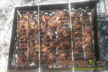 Шашлык из свинины маринованный с луком Шаг 10 (картинка)