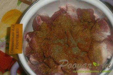 Шашлык из свинины маринованный с луком Шаг 5 (картинка)