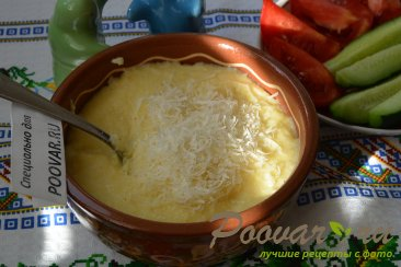 Полента (кукурузная каша) с сыром Шаг 7 (картинка)