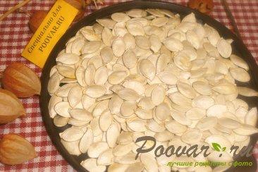 Сушка тыквенных семечек в духовке Шаг 10 (картинка)