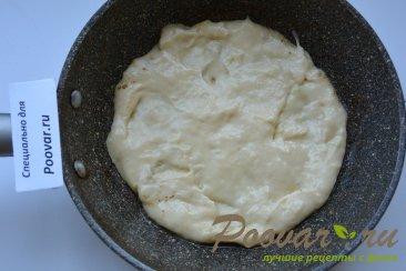 Быстрая пицца на сковороде с креветками Шаг 7 (картинка)