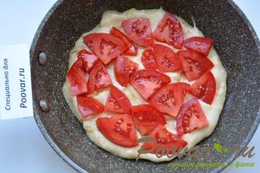 Быстрая пицца на сковороде с креветками Шаг 8 (картинка)