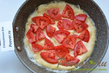Быстрая пицца на сковороде с креветками Шаг 9 (картинка)