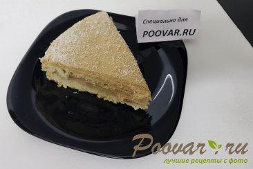 Бисквитный торт с кремом Изображение