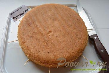 Бисквитный торт с кремом Шаг 2 (картинка)