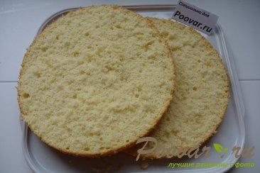 Бисквитный торт с кремом Шаг 3 (картинка)