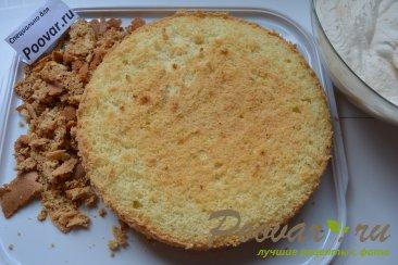 Бисквитный торт с кремом Шаг 9 (картинка)