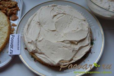 Бисквитный торт с кремом Шаг 10 (картинка)