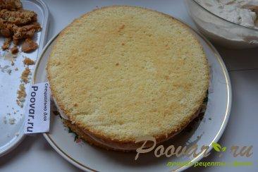 Бисквитный торт с кремом Шаг 11 (картинка)