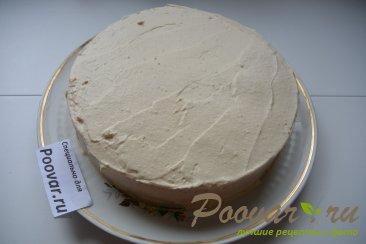 Бисквитный торт с кремом Шаг 12 (картинка)