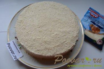 Бисквитный торт с кремом Шаг 13 (картинка)