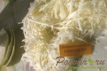 Пирожки с капустой из тыквенного теста Шаг 4 (картинка)