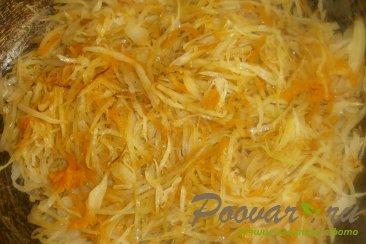 Пирожки с капустой из тыквенного теста Шаг 8 (картинка)