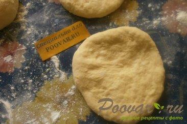 Пирожки с капустой из тыквенного теста Шаг 12 (картинка)