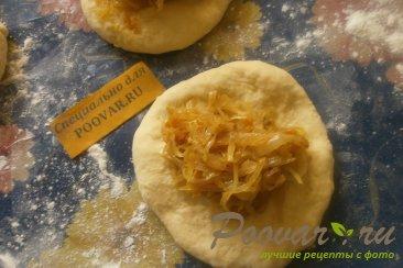 Пирожки с капустой из тыквенного теста Шаг 13 (картинка)