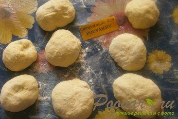Пирожки с капустой из тыквенного теста Шаг 10 (картинка)