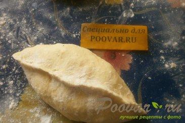 Пирожки с капустой из тыквенного теста Шаг 14 (картинка)