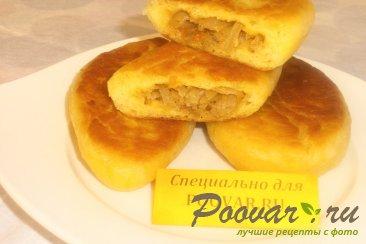Пирожки с капустой из тыквенного теста Шаг 18 (картинка)