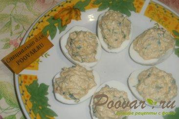 Фаршированные яйца с тыквой и вялеными помидорами Шаг 6 (картинка)