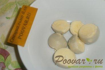 Фаршированные яйца с тыквой и вялеными помидорами Шаг 3 (картинка)