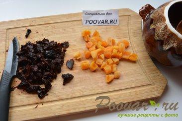 Шоколадная овсянка с сухофруктами Шаг 2 (картинка)
