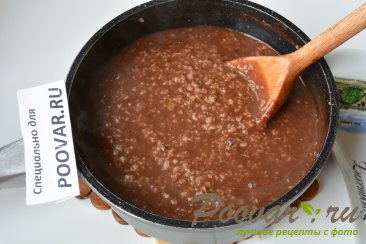 Шоколадная овсянка с сухофруктами Шаг 3 (картинка)