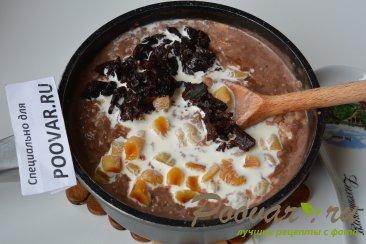 Шоколадная овсянка с сухофруктами Шаг 5 (картинка)