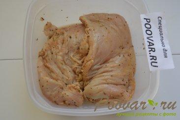 Куриная грудка с брокколи запеченная под сливочным соусом Шаг 1 (картинка)