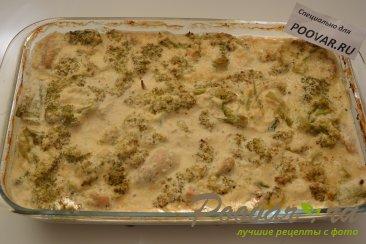 Куриная грудка с брокколи запеченная под сливочным соусом Шаг 11 (картинка)