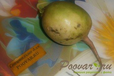 Салат из редиса арбузного с сельдью Шаг 1 (картинка)