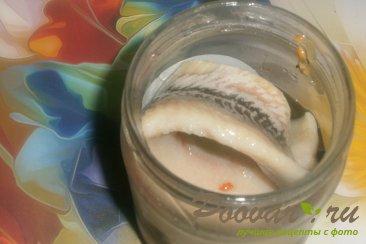 Салат из редиса арбузного с сельдью Шаг 4 (картинка)