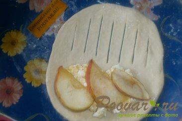Слойки с творогом, тыквой и яблоками Шаг 12 (картинка)