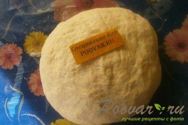 Пончики из тыквенного теста с луком и сыром моцарелла Шаг 4 (картинка)