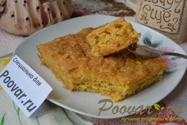 Тыквенный пирог без масла, яиц и муки Изображение