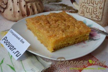 Тыквенный пирог без масла, яиц и муки Шаг 11 (картинка)