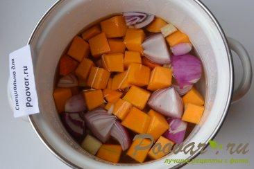 Тыквенный суп-пюре с креветками Шаг 3 (картинка)