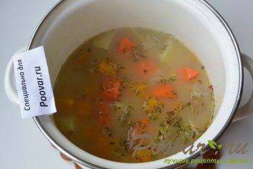 Тыквенный суп-пюре с креветками Шаг 8 (картинка)