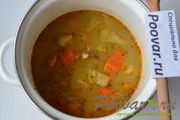 Тыквенный суп-пюре с креветками Шаг 9 (картинка)