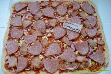 Пицца на дрожжевом тесте Шаг 13 (картинка)