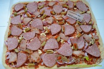 Пицца на дрожжевом тесте Шаг 14 (картинка)
