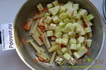 Кольраби тушеная с овощами Шаг 5 (картинка)