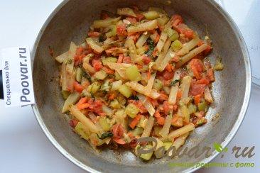 Кольраби тушеная с овощами Шаг 7 (картинка)