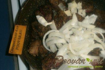 Куриная печень с тыквой Шаг 6 (картинка)