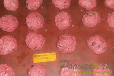 Печенье из свеклы с шоколадом Шаг 7 (картинка)