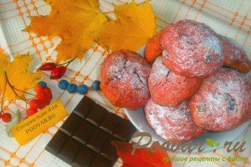 Печенье из свеклы с шоколадом Изображение