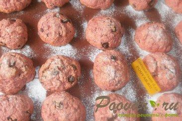 Печенье из свеклы с шоколадом Шаг 9 (картинка)
