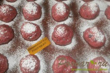 Печенье из свеклы с шоколадом Шаг 8 (картинка)