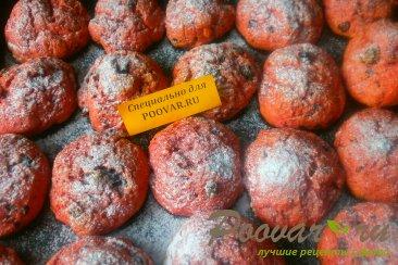 Печенье из свеклы с шоколадом Шаг 10 (картинка)