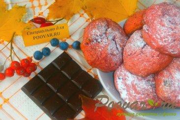 Печенье из свеклы с шоколадом Шаг 11 (картинка)