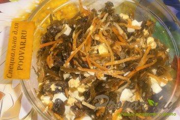 Салат из морской капусты с грибами Шаг 6 (картинка)